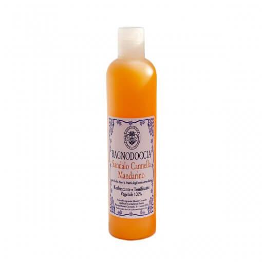 Bagno doccia sandalo cannella mandarino