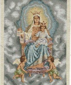 Tela artistica Madonna del Carmelo 29x37